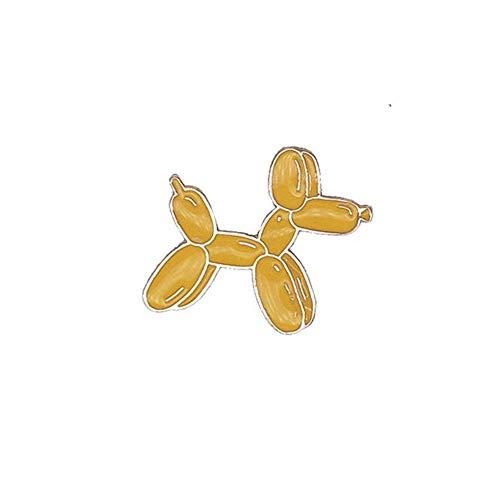 Fliyeong Premium Nette Brosche Button Pins für Frau Jeansjacke Cartoon Eis Eisbär Astronaut BadgeBalloon hund