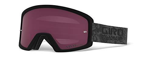 Giro Blok MTB Unisex Dirt Mountain Bike Goggles - Bicycle Nightmares, Vivid Trail Lens