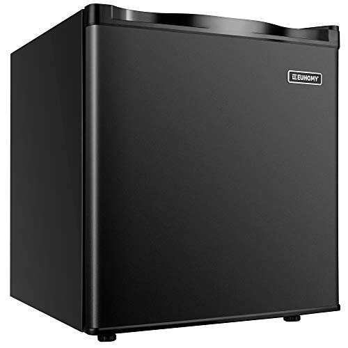 Euhomy Mini Freezer Countertop, 1.1 Cubic Feet, Single Door Compact Upright Freezer...