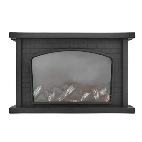 Chimenea Linterna, LED Simulación de Registro Falso Fuego ardiente Llama Efecto de luz, Colgantes o Sentado decoración para Interior y Exterior Calor Ambiente