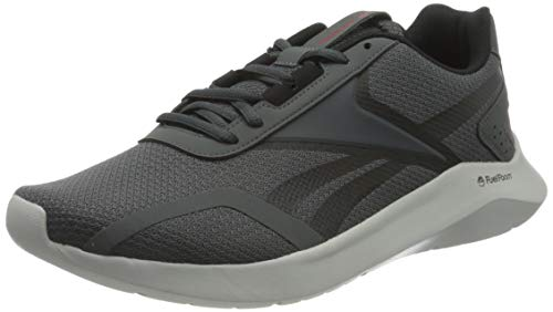 Reebok ENERGYLUX 2.0, Zapatillas de Running Hombre, TRUGR7/NEGRO/INSRED, 43 EU
