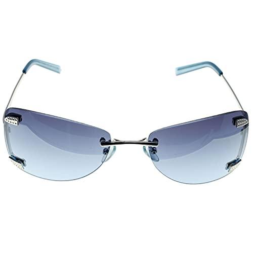 CHRISTIAN GAR Cg-4607-c Gafas De Sol Unisex Montura De Metal Color Plateado