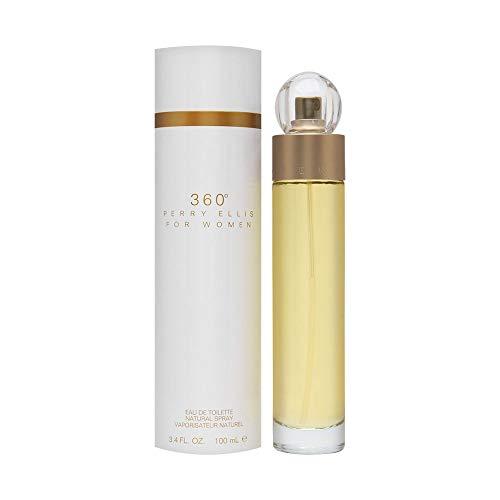 Perry Ellis 360 for Women Eau De Toilette Spray - 100 milliliter/3.4 ounce