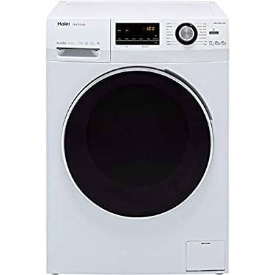Haier HWD100-BP14636 Freestanding Washer Dryer, Quiet & Reliabile Inverter Motor, 10/6kg Load, White