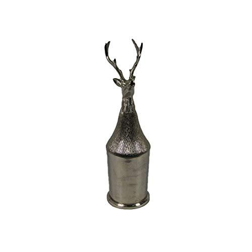 AM-Design Weinkühler Sektkühler Champagnerkühler Hirsch mit Deckel