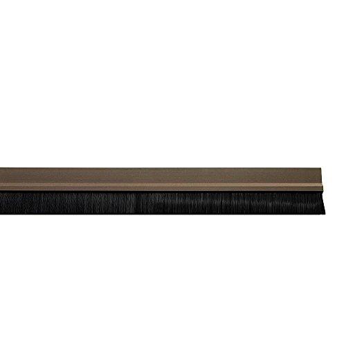 Wolfpack 5190155 - Bas de porte brosse en PVC, marrons, 1 m