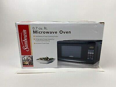 Sunbeam Microwave Oven 0.7 cu ft SGCMV807BK-07