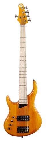MTD Kingston 'The Artist' Bass Guitar (5 String, Left Handed, Maple, Amber)