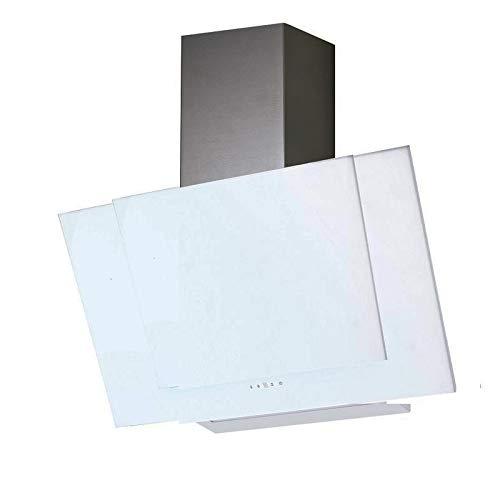 VLANO VALIO EEK A+ Kopf-freie Dunstabzugshaube Glas Design/Touch Control/ECO LED/Extra leiser Brushless Motor/Abluft/Umluft