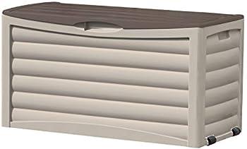 Suncast 83-gallon Outdoor Patio Storage Deck Box