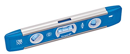 Empire EM81.9G 9-Inch Magnetic Torpedo Level w/Overhead Viewing Slot (Made in USA)
