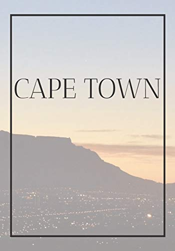 Cape Town: A decorative book for coffee tables, bookshelves, bedrooms and interior design styling: Stack International city books to add decor to any ... own home or as a modern home decoration gift.