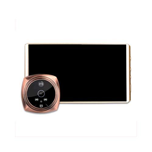 Sbeautli Música Timbre de la Puerta Mirilla cámara Digital de Alta definición de 4.3