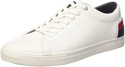 Tommy Hilfiger Herren J2285AY 7A1 Sneakers, Weiß (White 100), 44 EU