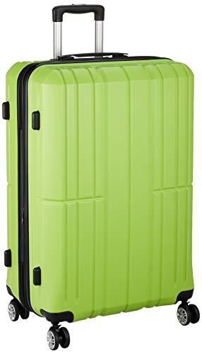 [アイダディ] 【idadi】軽量キャリーケース スーツケース M-7035 保証付 80L 70 cm 4.7kg M7035L-60 グリーン