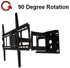 Rotating Portrait/Landscape Articulating TV Wall Mount for LG 47LN5400 LED TVRotates 90 Degree