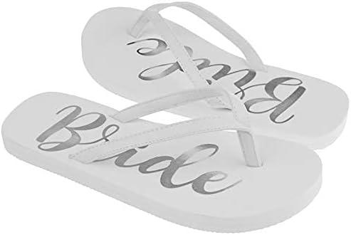 Capelli New York Foil Bride EVA Flip Flops