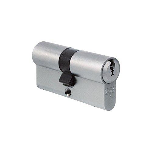 EVVA FPS Profil-Doppelzylinder 31/41 inkl. 5 Schlüssel - Bartschlüssel-Sicherheitszylinder - Sicherungskarte - Patentschutz bis 2026