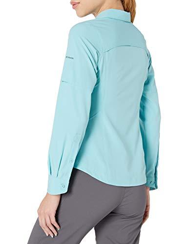 Columbia Women's Silver Ridge Long Sleeve Shirt, Iceberg, Large