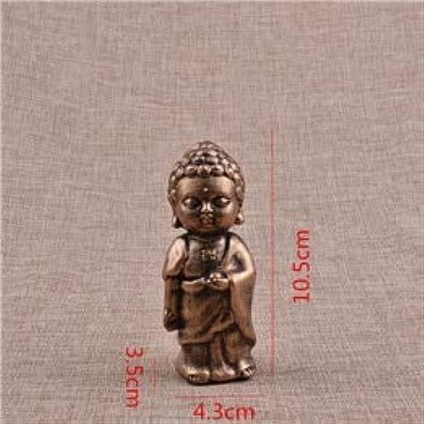 Garlic HOT Buddhism Small Buddha Statue Monk Figurine Tathagata India Yoga Mandala Sculptures Resin Craft Home Decoration Accessories Buddha Figure 1 Pcs