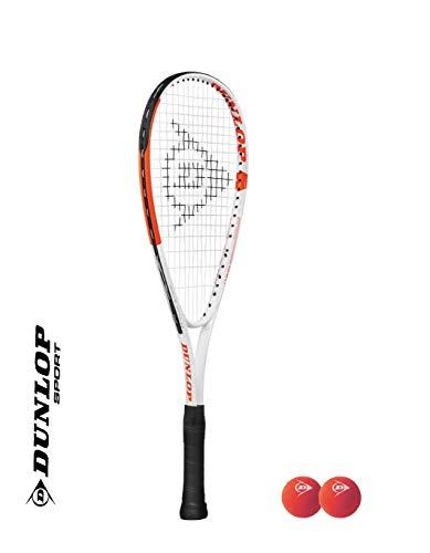 DUNLOP Juego de raqueta de squash con marco acortado para niños (varias opciones) (nuevo juego individual)