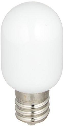 エルパ『LED常夜灯用ナツメ球(LDT1YR-G-E12-G1001)』