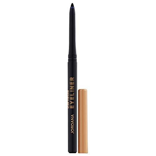 Jordana Eyeliner for Eyes - Draw The Line Eyeliner Pencil Black - .012 oz / .35 g