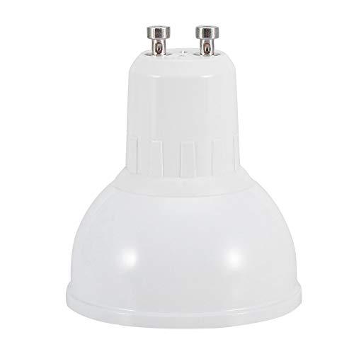 SHYEKYO Bombilla del Wi-Fi, Colores múltiples de la luz Regulable LED de los bulbos de lámpara Elegantes del Wi-Fi para iluminar(GU10)