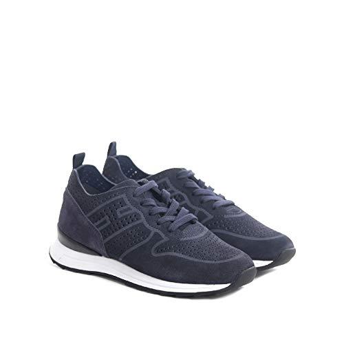 Hogan Sneaker R261 IN Suede BLU 29