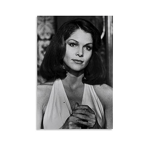 MATONG Lois Chiles Retro-Poster, dekoratives Gemälde, Leinwand, Wandkunst, Wohnzimmer, Poster, Schlafzimmer, Malerei, 20 x 30 cm