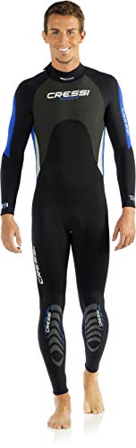 Cressi Morea - Mens Wetsuit Full 3mm, in Premium High Stretch Neoprene (L/4)