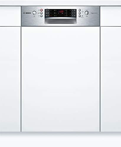 Bosch SPI66PS00E Serie 6 Geschirrspüler Teilintegriert / A++ / 45 cm / Edelstahl / 197 kWh/Jahr / 9 MGD / SuperSilence / EmotionLight / VarioBesteckkorb