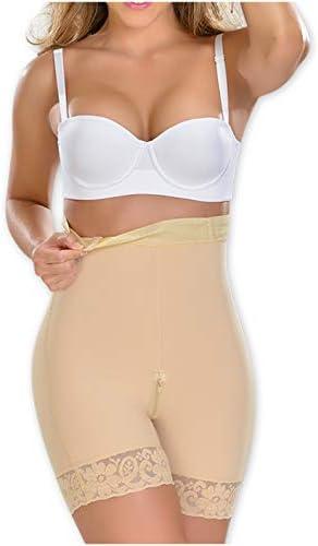 M D 0327 High Waist Body Shaper Butt Lifter Slimmer Shorts Fajas Levanta Cola Beige product image