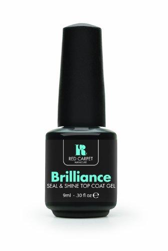 Red Carpet Manicure Brilliance Seal und Shine Top Coat Gel, 1er Pack (1 x 9 ml)