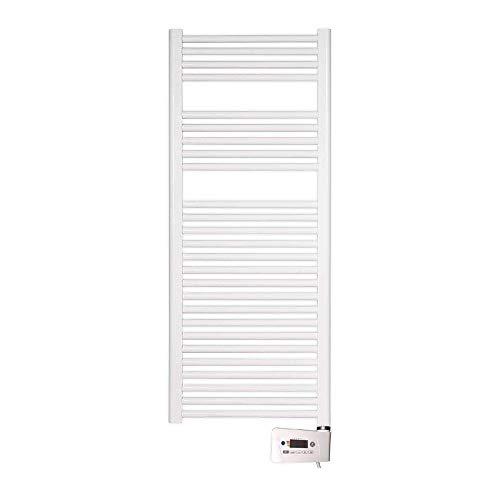 farho Secador de Toallas Electrico Nova Blanco 800W · Radiador Toallero Electrico Bajo Consumo · Toalleros de Baño/Calentador Toallas Digital Programable (Medidas 1200 x 500mm)