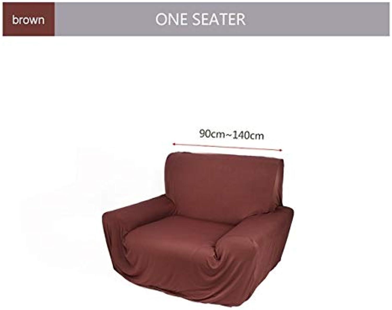 Modern Pure color Fashion Elastic Sofa Covers for Living Room Sofa Cover Stretchable Sofa Cushion Washable Sofa Slipcover   Camel, 2 Seater