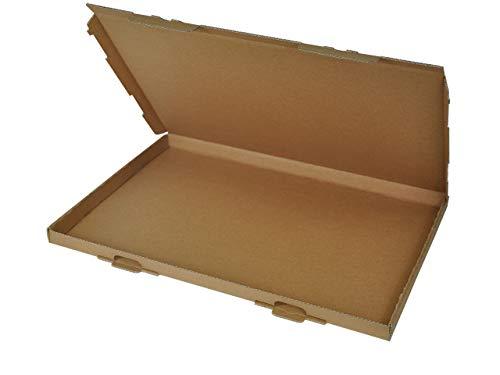 50 Großbrief Kartons 350x250x20 mm | Briefkarton DIN A4 geeignet für Warensendung mit DHL, Hermes, DPD und GLS | wählbar 25-1000 Stk.