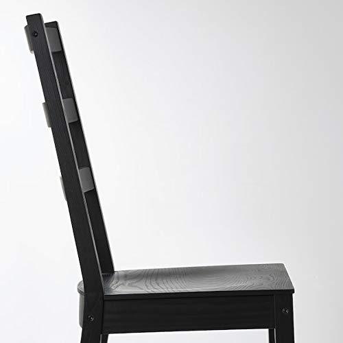 NORDVIKEN / NORDVIKEN Mesa y 2 sillas, negro, 74/104 x 74 cm, resistente y fácil de cuidar. Comedor hasta 2 asientos. Juegos de comedor. Mesas y escritorios. Muebles. Respetuoso con el medio ambiente.