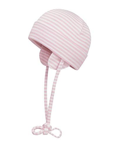 Döll Unisex Baby Bindemütze Jersey 9981176995 Mütze, Rosa (Blushing Bride 2440), 39