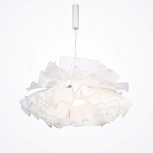 KK Gabby Candelabro de Estilo nórdico Dormitorio romántico cálido habitación de Boda de Princesa Personalidad lámpara de Dormitorio Principal Creativa diámetro 60 cm