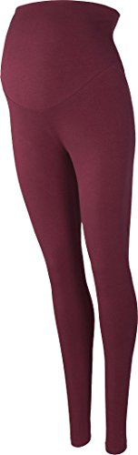 Golden Lutz - Damen Umstandsleggings aus Bio-Baumwolle, (Bordeaux, L - 44/46) | ESMARA