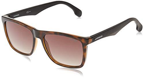 Carrera Unisex-Erwachsene 5041/S HA 2OS 56 Sonnenbrille, Schwarz (BRWN)