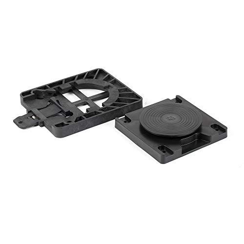 X2 X2 Sitz-Entriegelung, Kunststoff, drehbare Platte, Schwarz