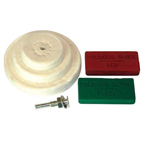 Silverline 153203 Polishing Kit 6-Piece Set