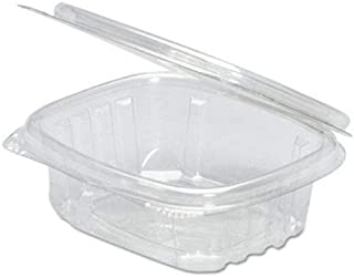 4 oz clear hinged deli container
