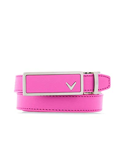 Callaway Performance Web Belt, Fuchsia Pink Solid, One Size