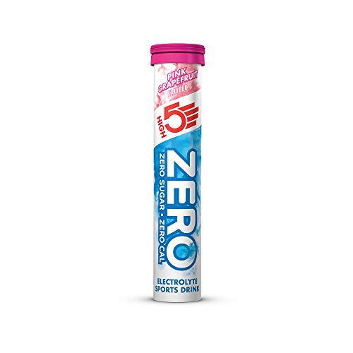 High5 ZERO 1 tubo x 20 tabl -Bebida Isotonica - Sabor - Pink-Grapefruit