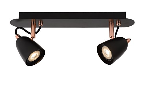 Lucide RIDE-LED - Deckenstrahler - LED Dim. - GU10 - 2x5W 3000K - Kupfer