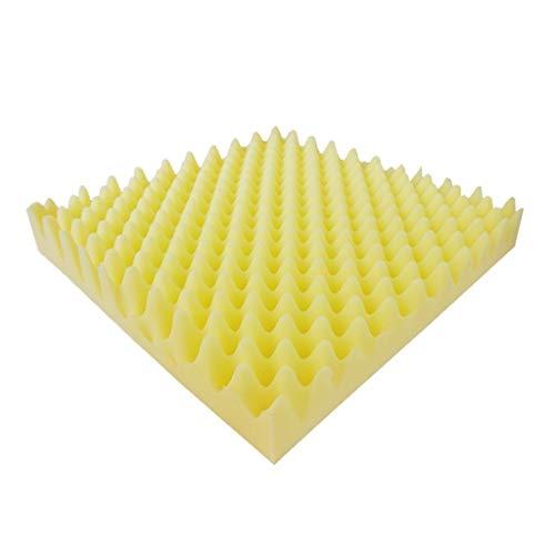 Cinema akoestische panelen, woondecoratie Studio Office Classroom zacht geluid absorberende katoen, 10st (Color : Yellow)