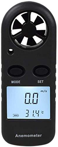 Herramientas de medición Anemómetro digital Termómetro de flujo de aire Vela Anemómetro Surfing Use Probador al aire libre Sailing Surfing Use el medidor de velocidad del viento Medición de la velocid